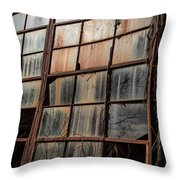 Windows Into My Soul Throw Pillow