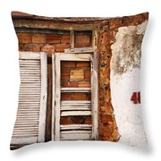 Windows Of Alcantara Brazil 1 Throw Pillow