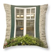Windows Of Quebec 2 Throw Pillow