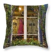 Windows Of Quebec 3 Throw Pillow