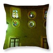 Windows Of Sanaa Throw Pillow