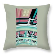 Windows - Phone Cases And Cards Throw Pillow