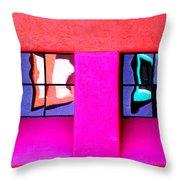 Windows Reflected Throw Pillow