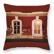 Windows To Souls Throw Pillow