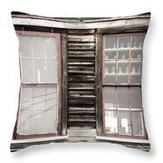 Windows To Valentown Throw Pillow