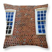 Windows With History Throw Pillow