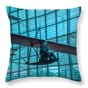 Windrider Throw Pillow