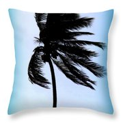 Winds Of Blue Throw Pillow