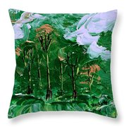 Winds Of Destiny Throw Pillow