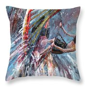 Windsurf 03 Throw Pillow