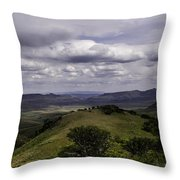 Windy Gap Looking East 2 Throw Pillow