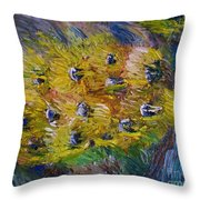 Windy Throw Pillow