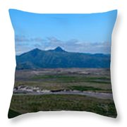 Windy Ridge View Throw Pillow