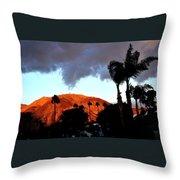 Windy Sunrise Throw Pillow