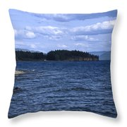Windy Windemere Throw Pillow