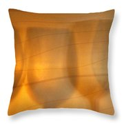 Wine Abstract Throw Pillow
