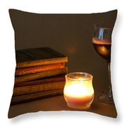 Wine And Wonder A Throw Pillow