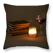 Wine And Wonder C - Square Throw Pillow