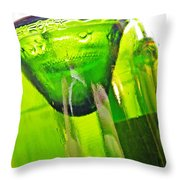 Wine Bottles 5 Throw Pillow by Sarah Loft