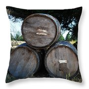#alibisandwine Throw Pillow