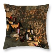 Wine Cave Throw Pillow