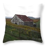Wine Country Throw Pillow