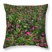 Wine Cups With Backlighting Throw Pillow