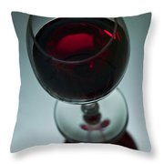 Wine Glass 2 Throw Pillow