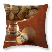 Wine Lover Throw Pillow