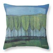 Wineglass Trees Throw Pillow