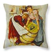 Winery Art Throw Pillow