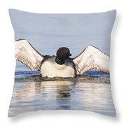 Wing Beats Throw Pillow