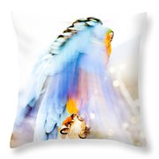 Wing Dream Throw Pillow by Fran Riley
