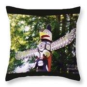 Wing Span Throw Pillow
