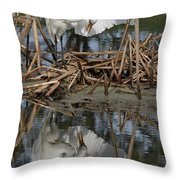 Wing Up Reflection Throw Pillow