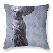 Winged Victory Throw Pillow by Garry Gay