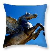 Winged Wonder II Throw Pillow