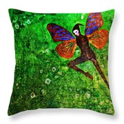 Wings 10 Throw Pillow