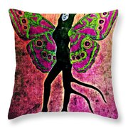 Wings 11 Throw Pillow