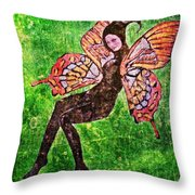 Wings 17 Throw Pillow