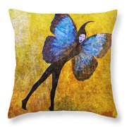 Wings 5  Throw Pillow