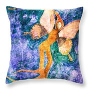 Wings 8 Throw Pillow