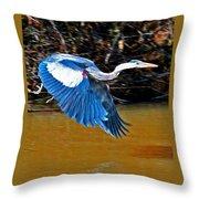 Wings In Flight Throw Pillow