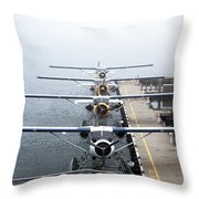 Wings Throw Pillow by Joanna Madloch