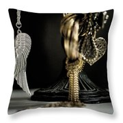 Wings Of Desire I Throw Pillow