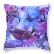 Wings Of Joy Throw Pillow