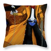 Wings Of The West Throw Pillow