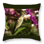 Wings Out Of The Way Throw Pillow