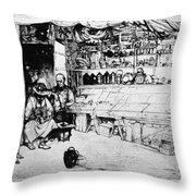 Winkler Ginger Shop, 1922 Throw Pillow