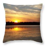 Winnecunnet Sunset Throw Pillow